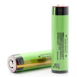 18650 Panasonic NCR18650B 3400mah 3,7V с защитой (Protected) - Made in Japan - 2018 г.