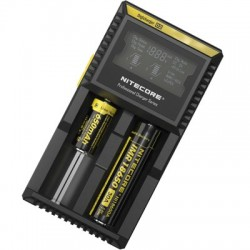 Nitecore Digicharger D2 + автоадаптер