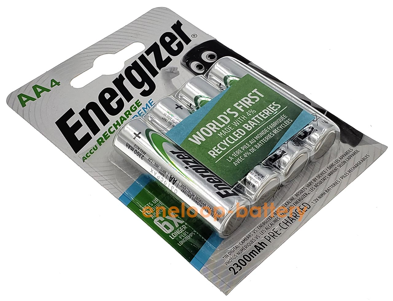 AA Energizer Extreme 2300 mah Pre-Charged